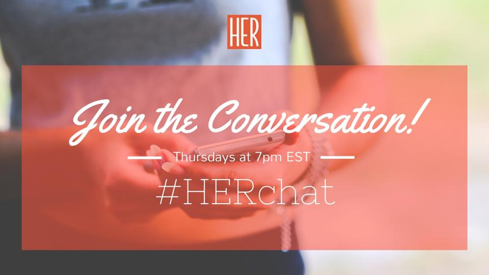 Join @EmpowHER for #HERchat!